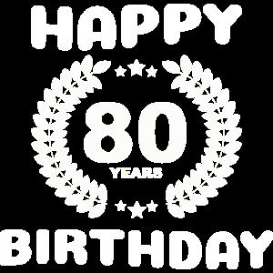 Happy Birthday: 80 Jahre