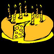 20. Geburtstagsshirt: Alter und Käse