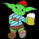 Yoda Lederhose