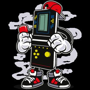 CONTROLLER BOY - Comic Cartoon Comicfigur Motiv