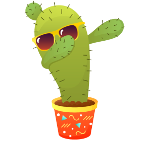 Dabbing Cactus Dab Dance