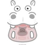 Hippo transparent dunkel 2