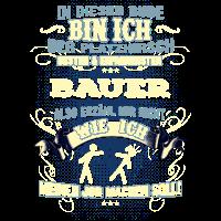 Edles Berufe-Shirt für Bauern, Landwirt, Farmer