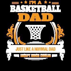 Basketball-Vati-Hemd-Geschenk-Idee