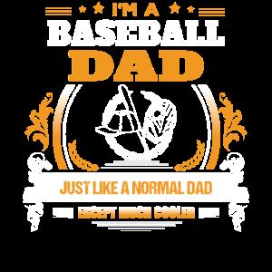 Baseball-Vati-Hemd-Geschenk-Idee