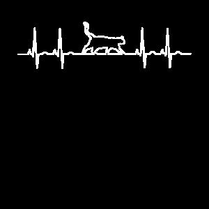 Katze ekg cat puls Herzschlag Kätzchen Linie