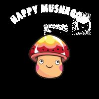 happy mushroom Pilz Trip Trance Halluzination lol
