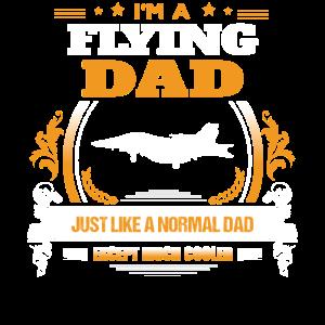 Fliegender Vati-Hemd-Geschenk-Idee