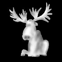 elch rentier Geweih Winter Schweden Rudolf xmas lo
