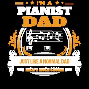 Pianist-Vati-Hemd-Geschenk-Idee