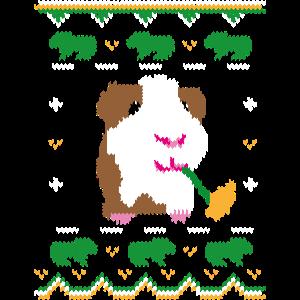 ugly sweater meerschwein