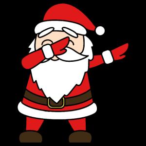 Weihnachtsmann Dab - Merry Christmas - Weihnachten