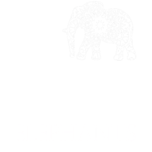 Love Elephants white