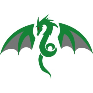 Red eyed green dragon