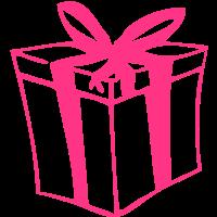 Geschenk-Paket für Weihnachten