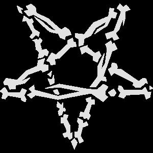 Knochenpentagramm