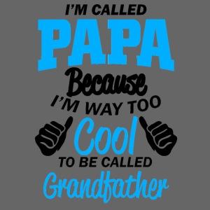 on m'appel papa car je suis trop cool grand-père
