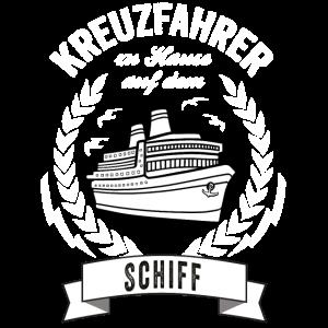 Kreuzfahrt Shirt - Kreuzfahrer Schiff - Geschenk