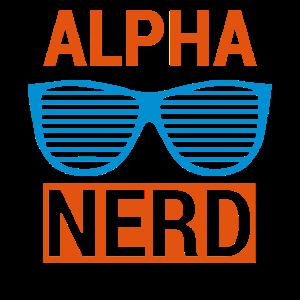 Alpha Nerd - Geschenk für echte Nerds