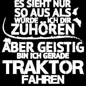 Traktor Tshirt Geschenk für den Mann - Lustig