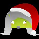 logo femme android noel