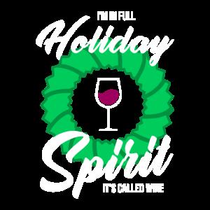 Wein Trinken Weihnachten Geschenk