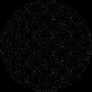 Schwarz - weißes Wellen Muster