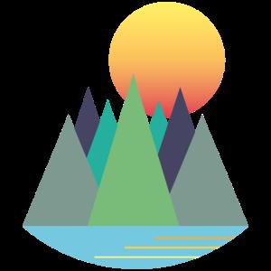 Berge - Sonnenaufgang -