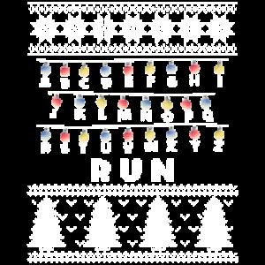 Creepy Run Chain Of Lights Graphic