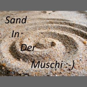Sand in der Muschi
