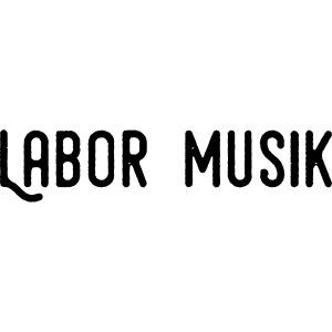 Labor Musik Schriftzug