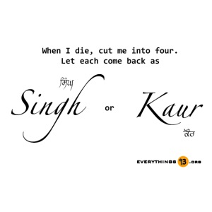 When I die cut me into four