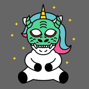 Drachen Einhorn Geschenk Maske Karneval Drachenei