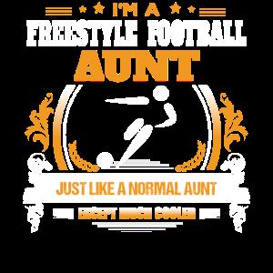 Freistil Fußball Tante Shirt Geschenkidee