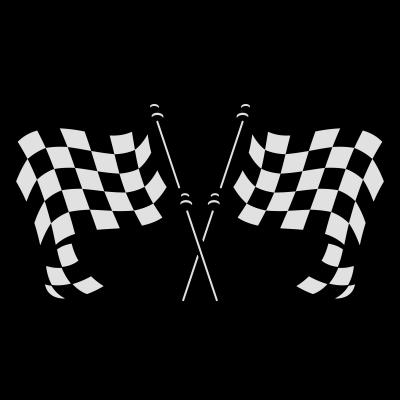 Zielflagge -  - kariert,freedesigns17,Sport,Speed,Sieger,Rennen,Rennbahn,Partie,Motorsport,Motorrad,Fahne,Champion,Autos
