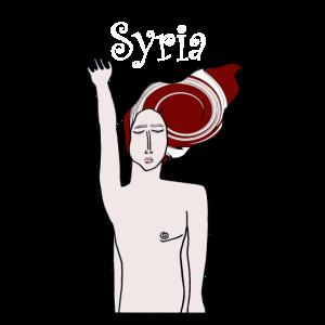 SYRIEN in weiß