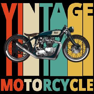 Vintage Retro Motorrad. Geschenke für Geburtstag.