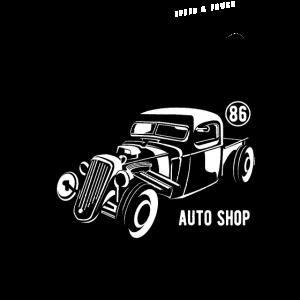 1986 HOTROD - Vintage Hotrod Auto Geschenk Shirt