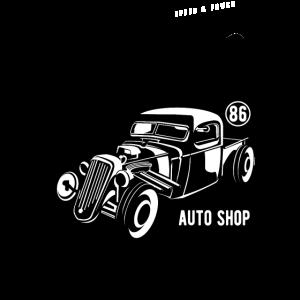 HOTROD COSTUM - Vintage Hotrod Geschenk Car Shirt
