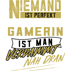 Gamerin Zockerin Zocken Daddeln Gamen Geschenk