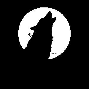 Wolf heult - Wolf heult Mond Herz Tier Wölfe