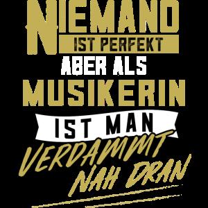 Musikerin Musik Musikantin Musiklehrerin Geschenk