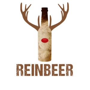 Reinbeer - Bierflasche mit Rentier