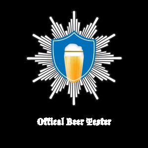 Offiziale beer Tester Bier trinken Prost Joke dad