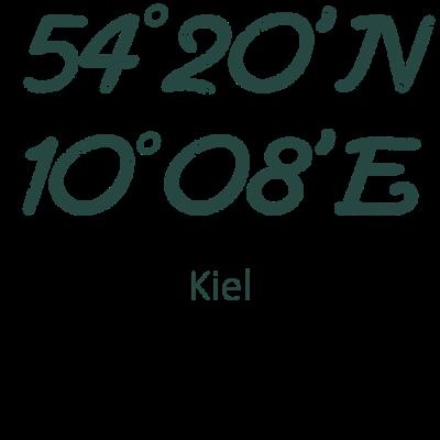 Kiel - Du findest auch das Kiel die geilste Stadt der Welt ist ? Dann haben wir hier was für dich. Zeige allen für welche Stadt dein Herz schlägt. - nordsee,küste,kiel,ostsee,Kiel,scholle,schleswigholstein,Kieler
