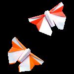 Origami Butterflies - Papillons - Mariposas