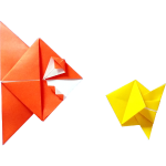 Origami Piranha and Fish - Poisson - Pesce - Peixe