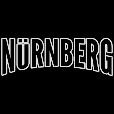 Nuernberg - Nürnberg Motiv 2-Farbig - dialekt,fränkisch,Nürnberg