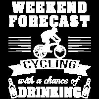 Wochenende mit der Chance einen zu Trinken