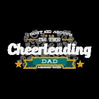 Cheerleading Dad Vater Shirt Geschenk Idee